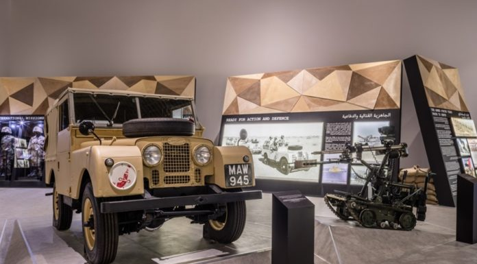 Etihad Museum Exhibit