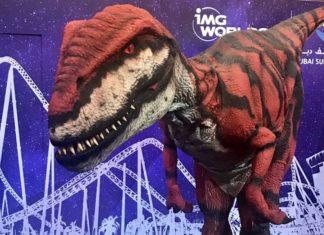 IMG Worlds Of Adventure Dinosaur