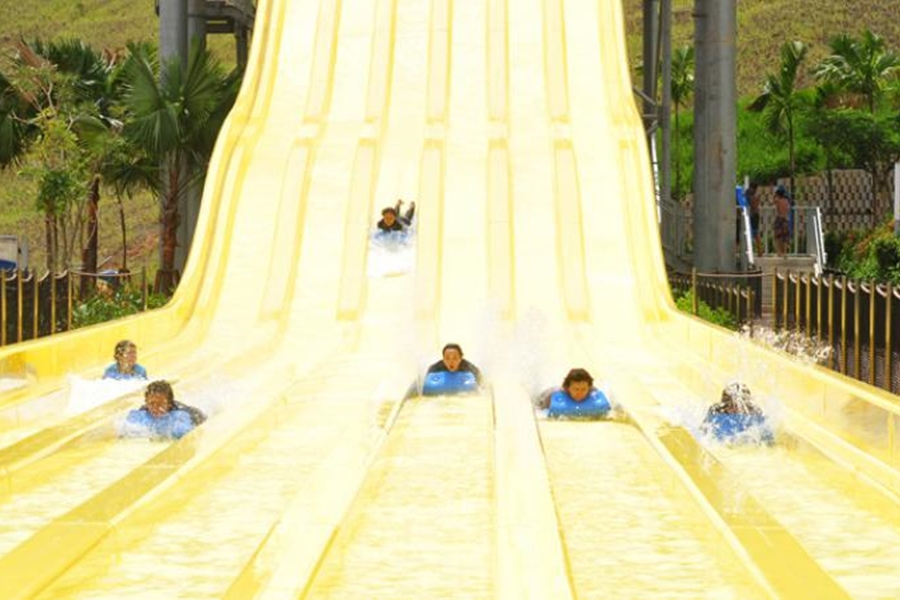 Legoland Water Park Slide
