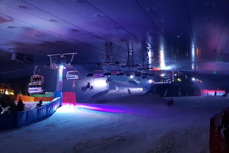 Ski Dubai Lights Off
