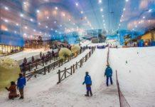 Ski Dubai Rail