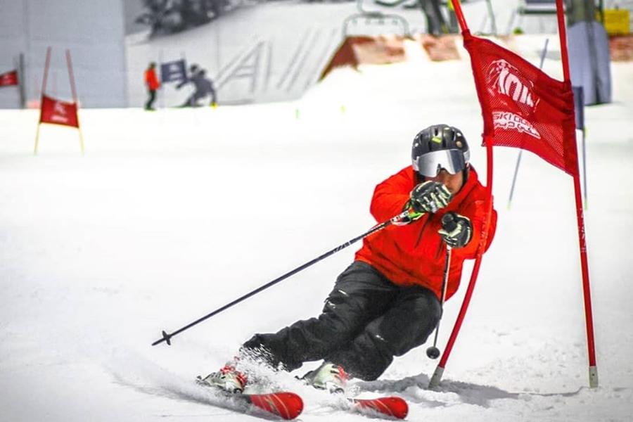 Ski Dubai Showoff