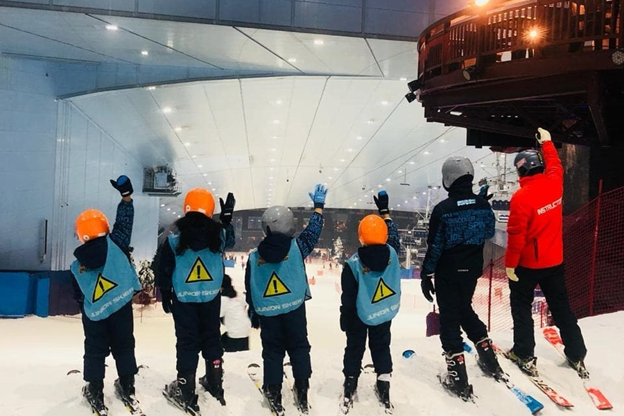 Ski Dubai Team