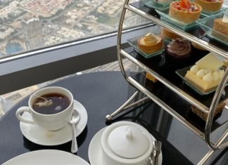 Tea In The Clouds At The Lounge