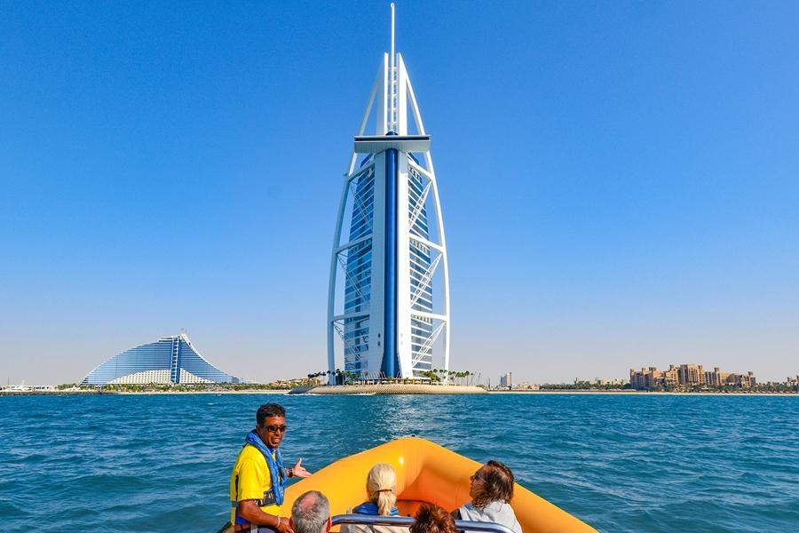 The Yellow Boats Burj Al Arab