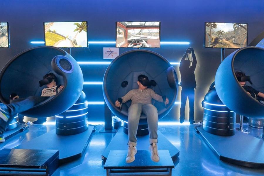 VR Park Dubai Seat