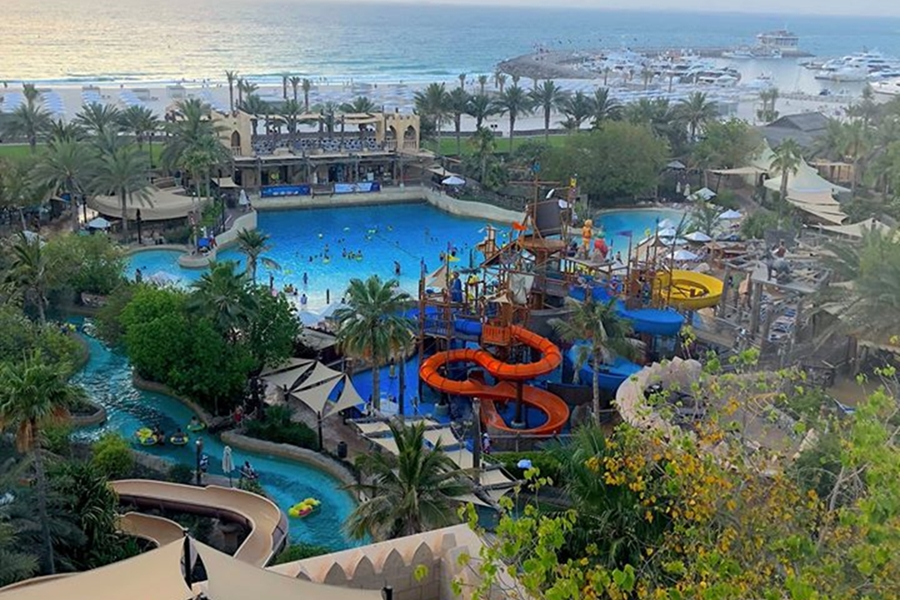 Wild Wadi Waterpark Slides