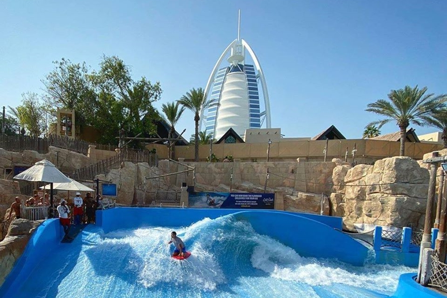Wild Wadi Waterpark Wavepool