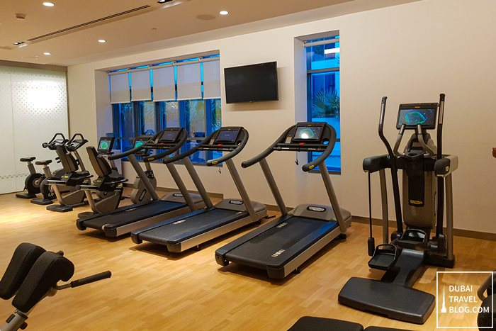 gym hyatt place dubai jumeirah