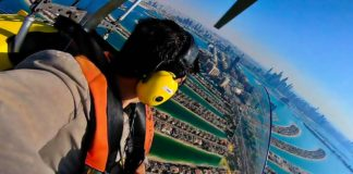 gyrocopter flight experience dubai