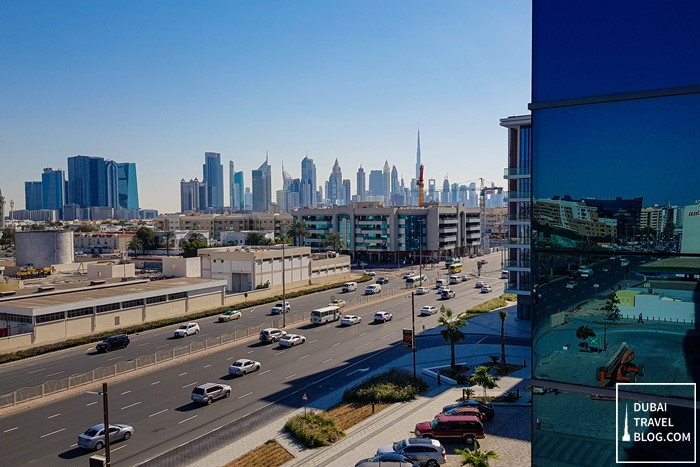 hyatt place dubai jumeirah view skyline