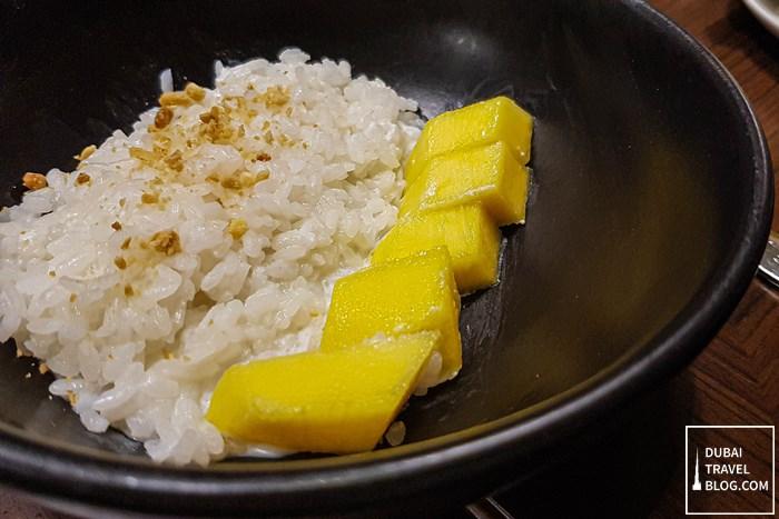 mango sticky rice hyatt place dubai jumeirah