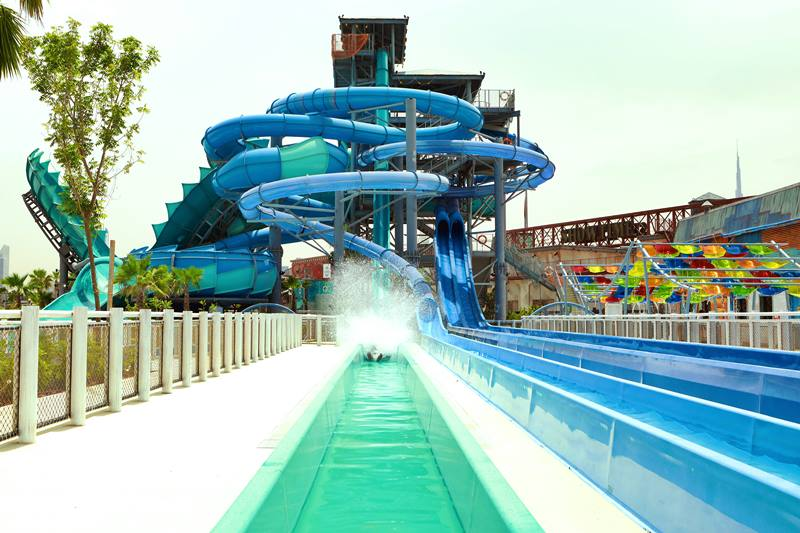 waterslides laguna waterpark