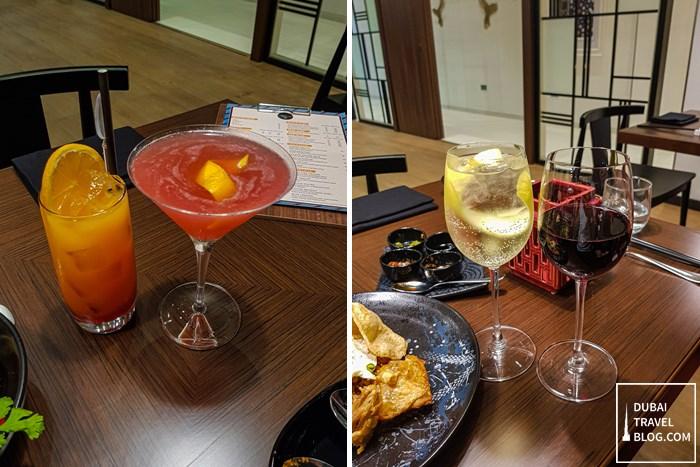 wox restaurant beverages