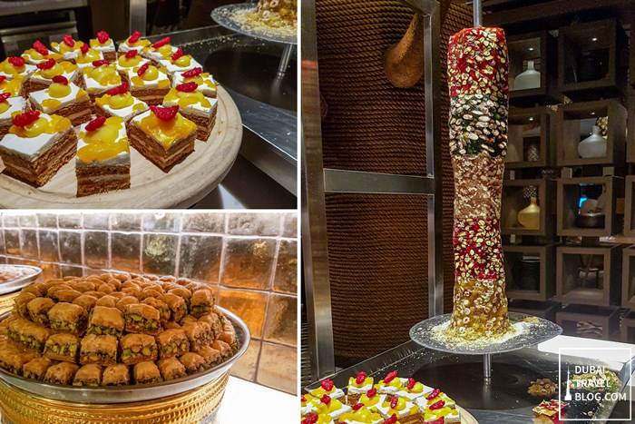 arabic desserts aseelah restaurant