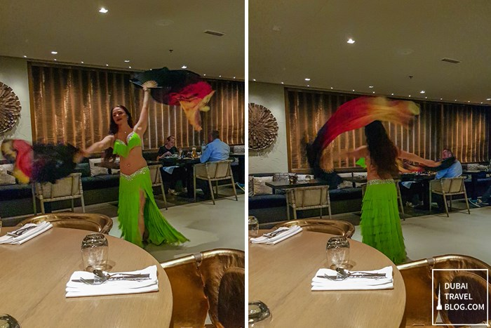 belly dancer radisson blu deira creek