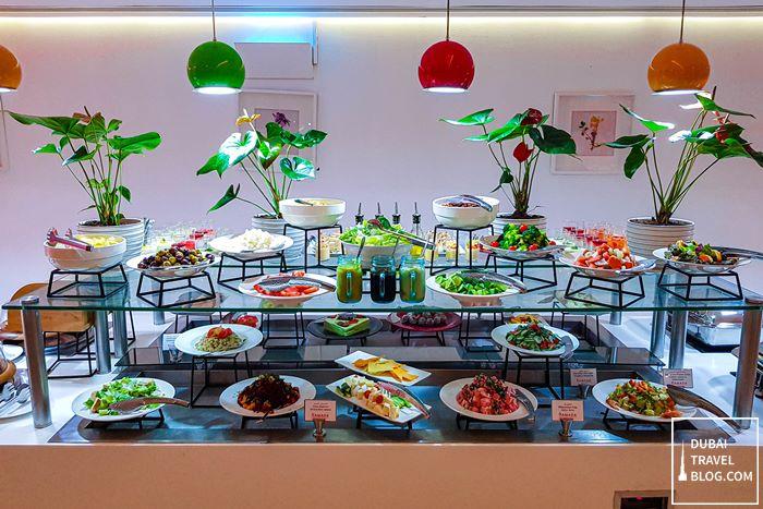 buffet spread flavours dubai