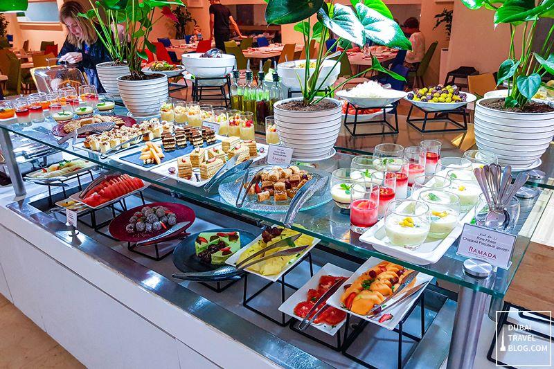 dessert station ramadan jbr flavours restaurant