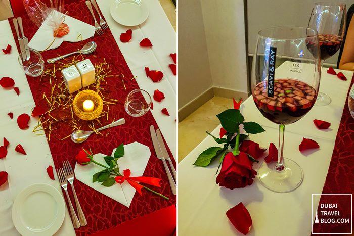ramada hotel jbr valentines