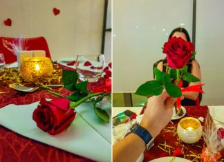 valentines dinner ramada jbr