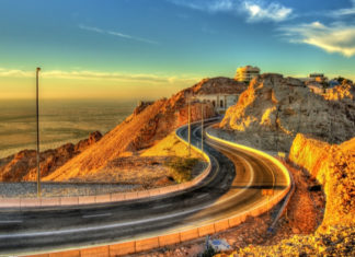 jebel hafeet mountain road trip