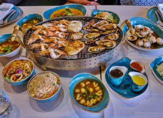 fresh seafood at fish market dubai radisson blu