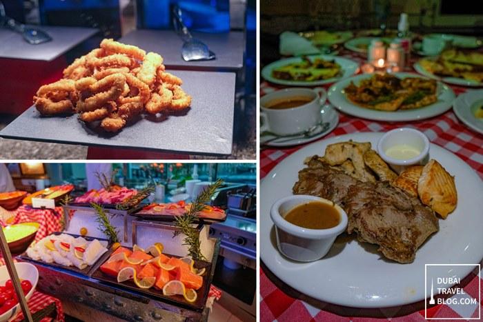 grilled food pergolas restaurant dubai