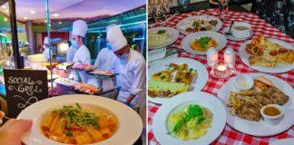 pergolas italian buffet dubai