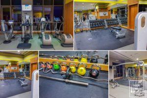 fitness gym amwaj rotana