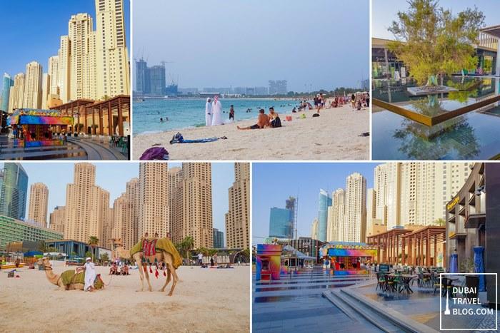 jumeirah open beach the beach area