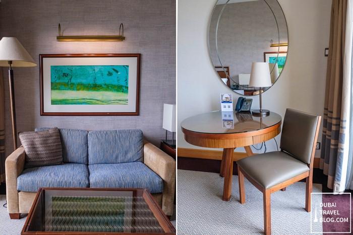 premium seaview room amwaj rotana hotel