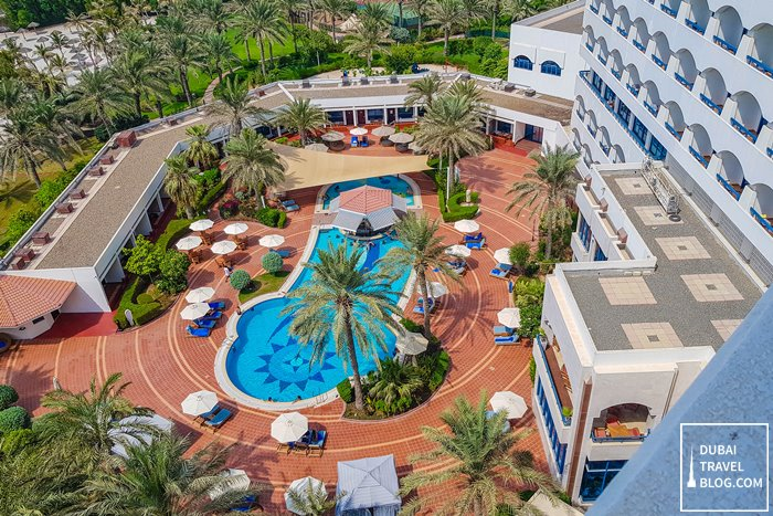 ajman hotel by blazon hotels pool