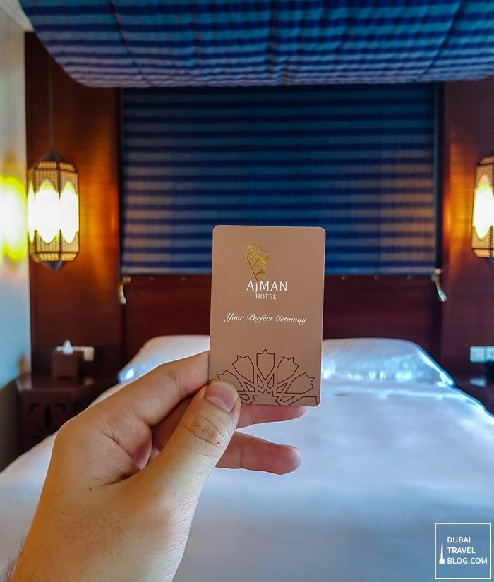 ajman hotel key card