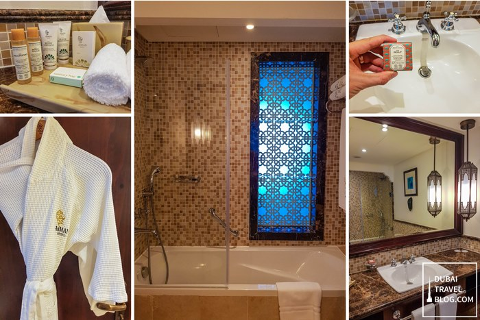 ajman hotel resort bathroom