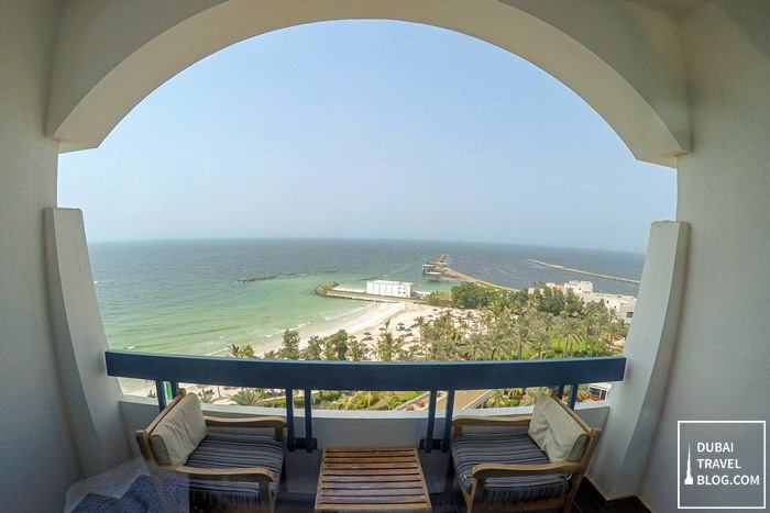 ajman hotel sea view balcony