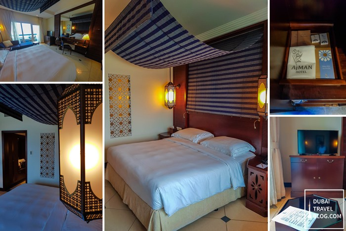 ajman hotel signature deluxe sea view room