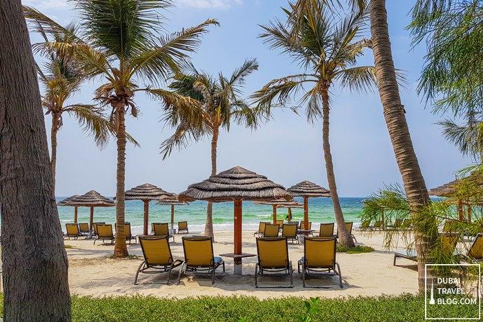 beach at ajman hotel