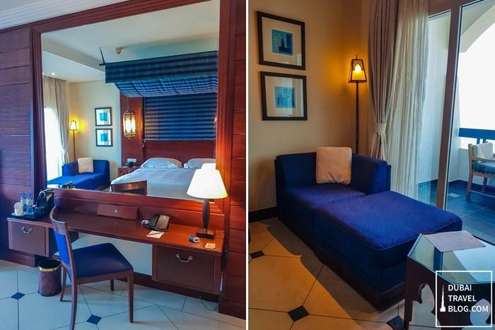 bedroom in ajman hotel by blazon hotels