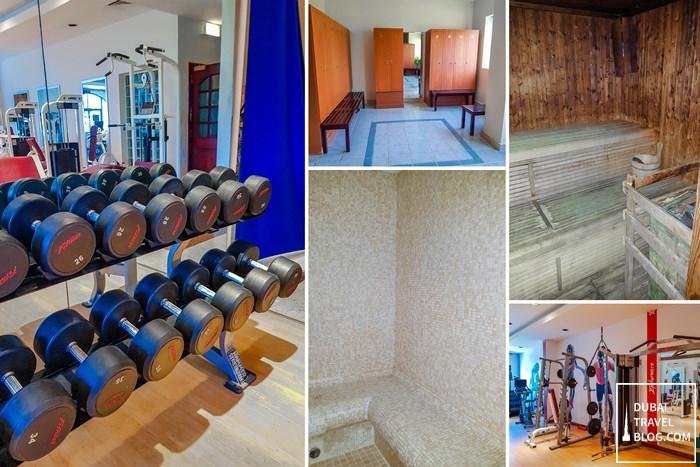 gym in ajman hotel