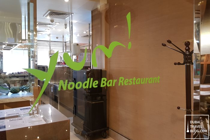 yum noodle bar restaurant review