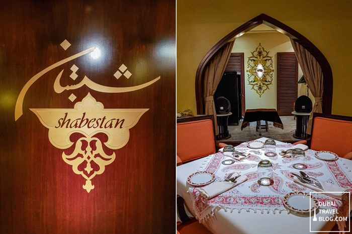 Shabestan Restaurant blog review