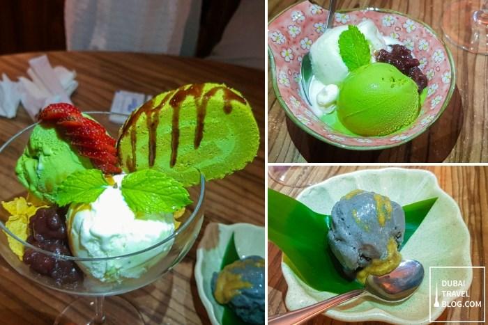 kimura ya restaurant desserts