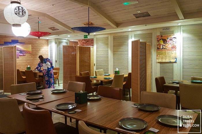 kimura ya restaurant dubai