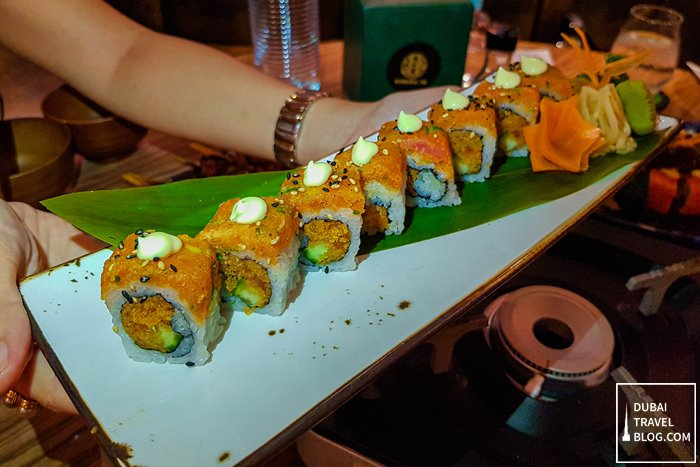 spicy tuna roll kimuraya dubai