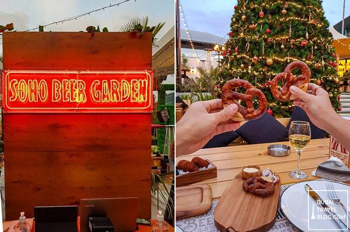 soho beer garden dubai restaurant