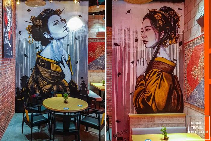 interior sizzling wok restaurant business bay