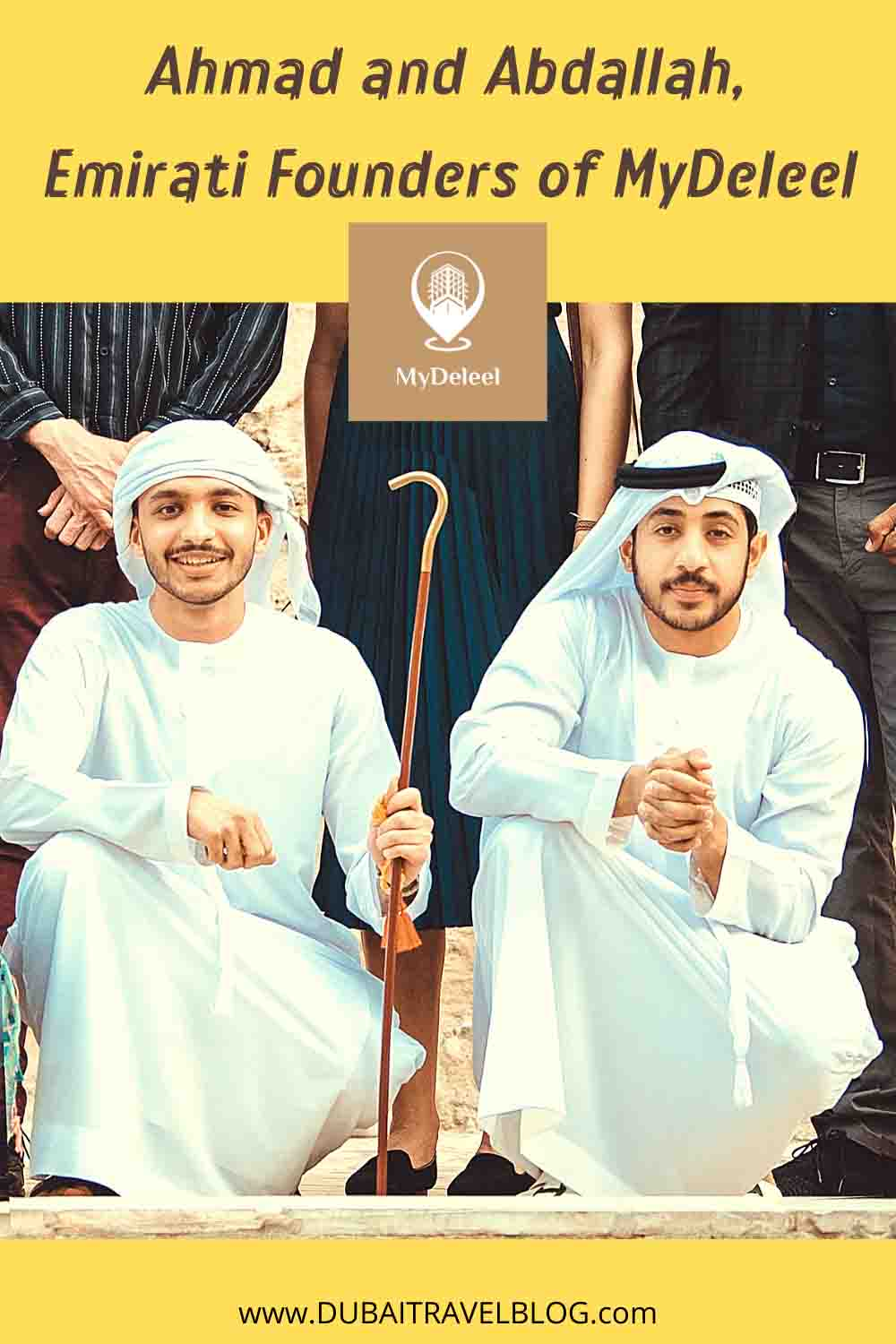 Interview with Ahmad and Abdallah, Emirati Founders of MyDeleel