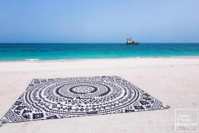 Tesalate beach towel Phoenix design