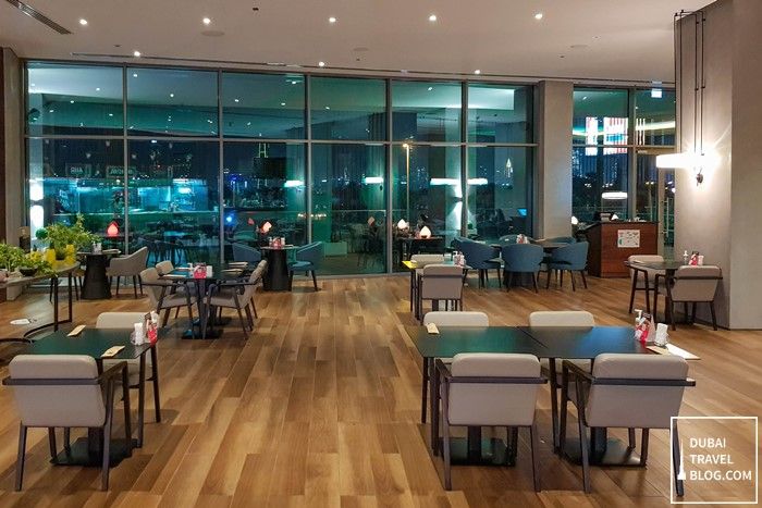 the canteen in aloft deira city center