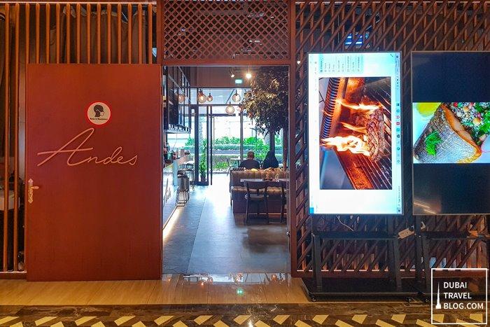 Andes Restaurant Dubai UAE